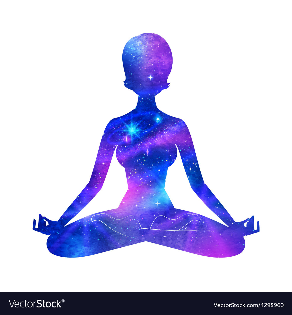 Meditation vector | Price: 1 Credit (USD $1)