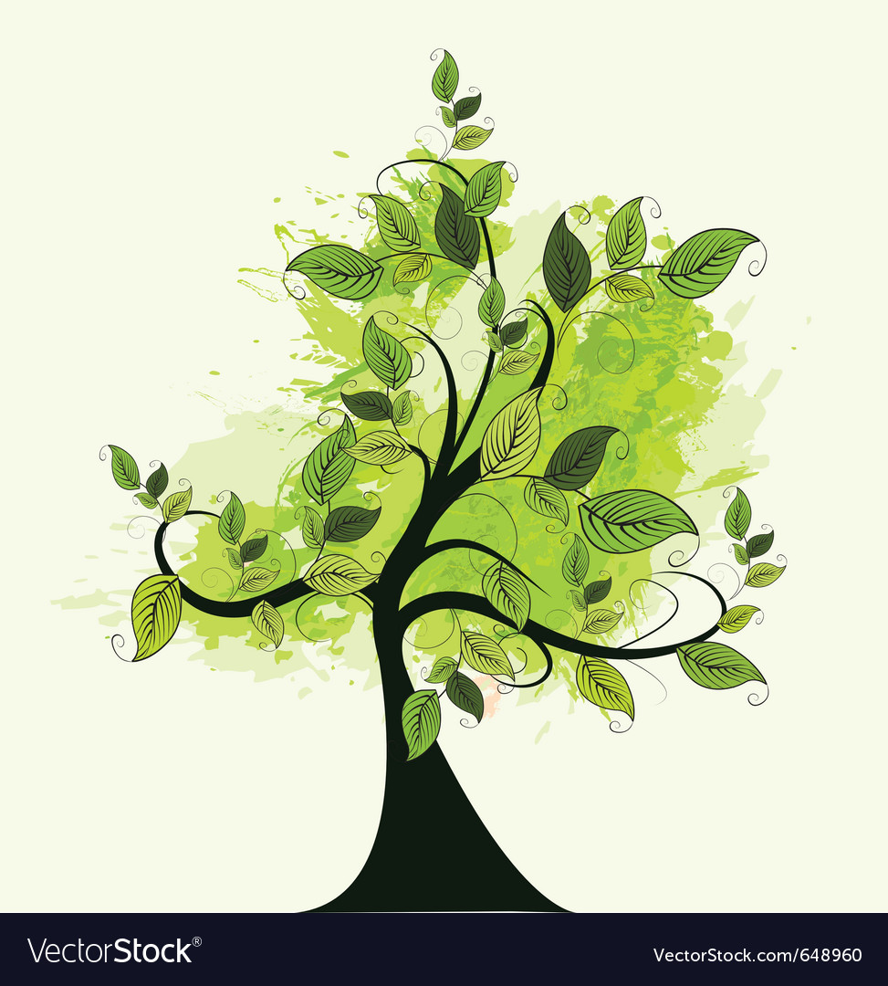 Nature tree vector | Price: 1 Credit (USD $1)