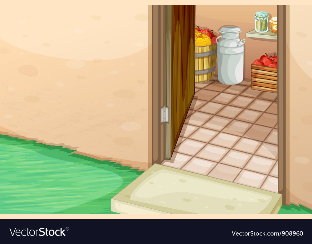 Open door vector | Price: 3 Credit (USD $3)