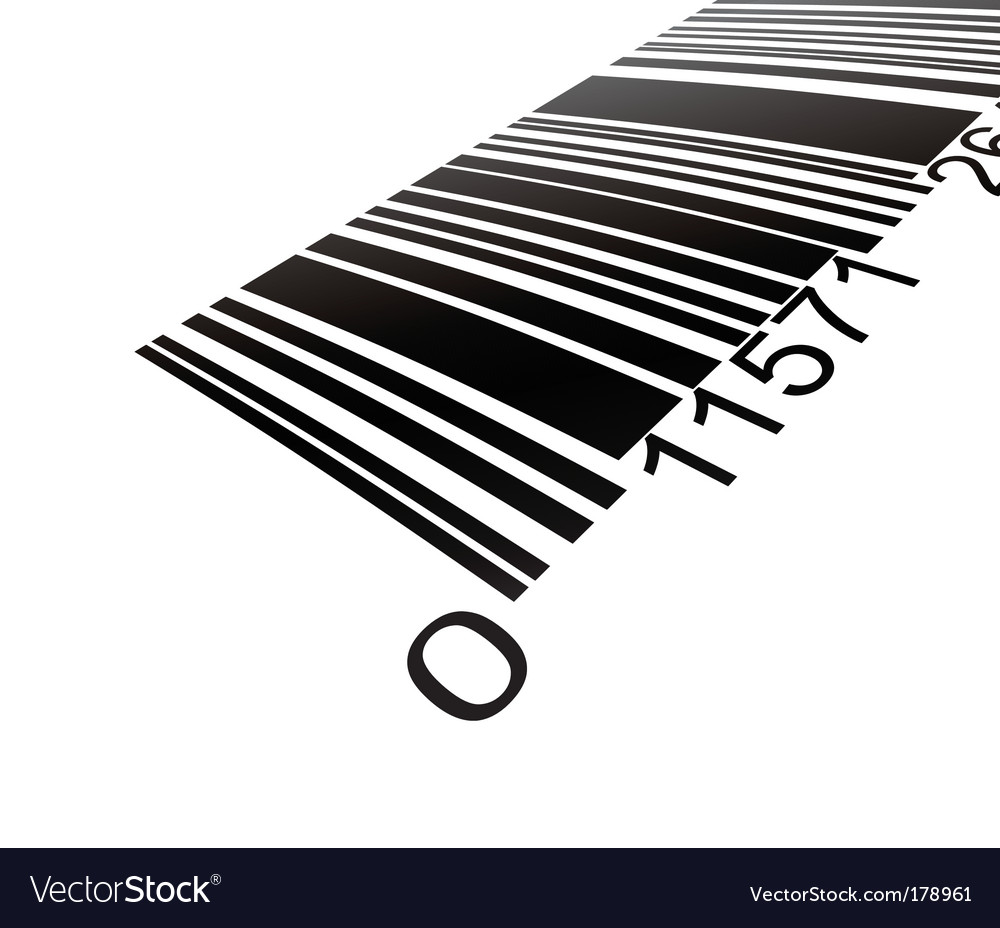 Bar code vector | Price: 3 Credit (USD $3)