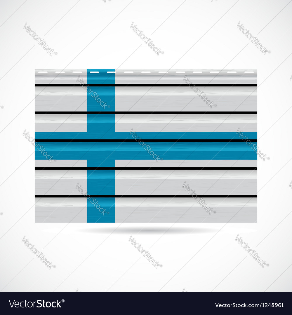 Finland siding produce company icon vector | Price: 1 Credit (USD $1)