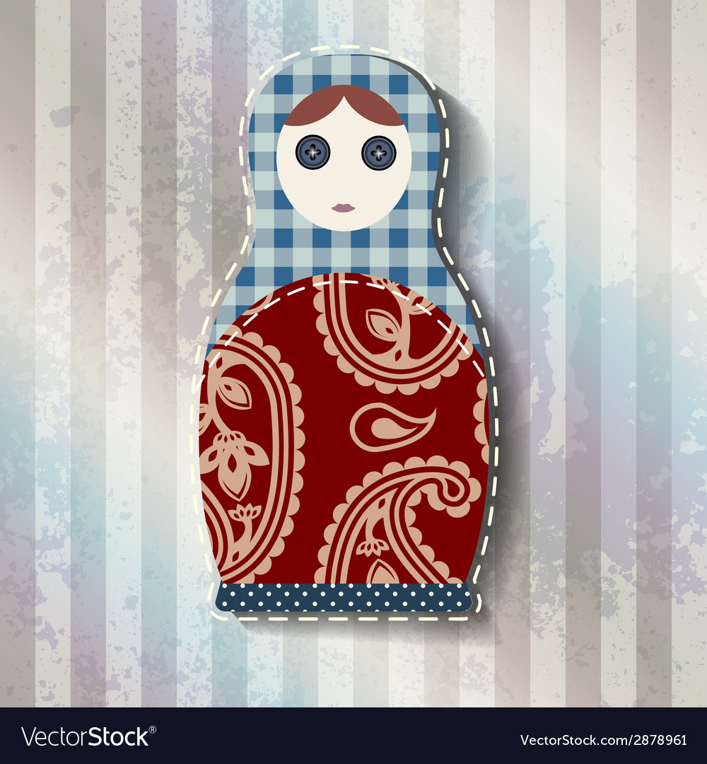 Matryoshka doll vector | Price: 1 Credit (USD $1)