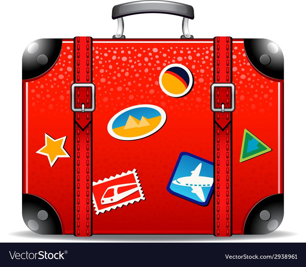 Travel suitcase vector   Price: 1 Credit (USD $1)
