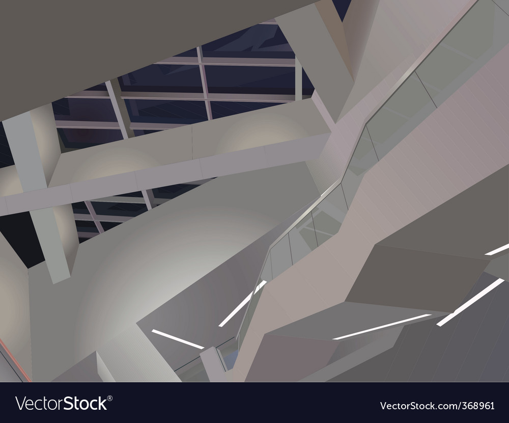 Twisted architecture vector | Price: 1 Credit (USD $1)