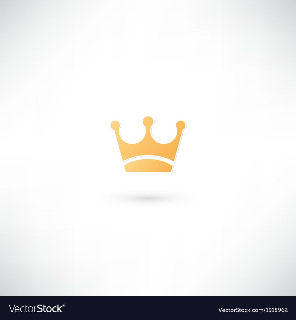 Crown icon vector   Price: 1 Credit (USD $1)
