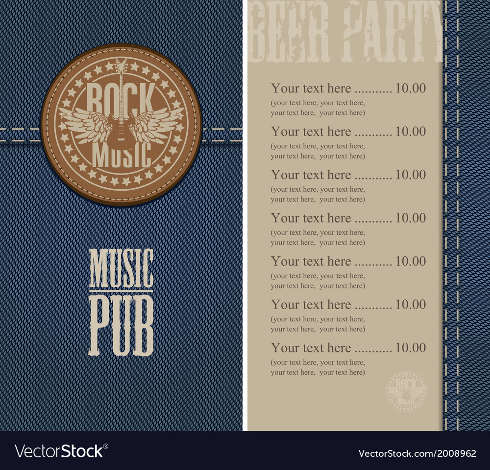 Music pub vector | Price: 1 Credit (USD $1)