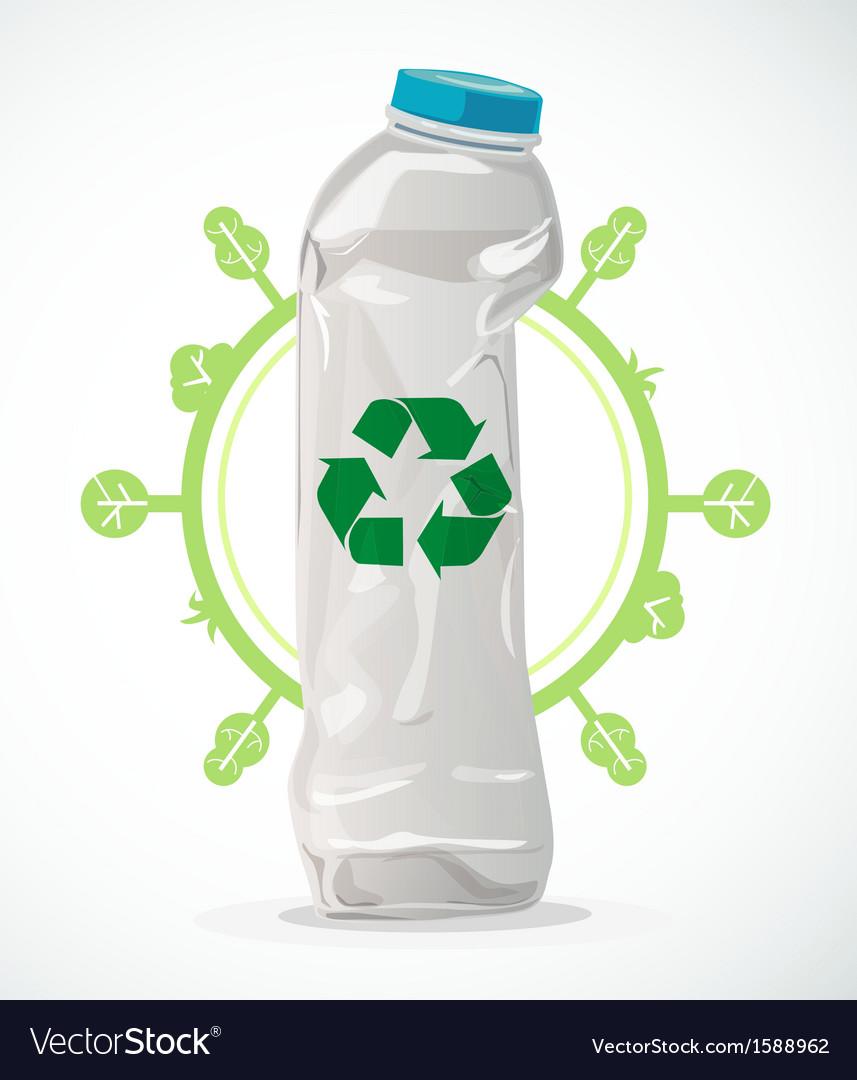 Recycle plastic vector | Price: 1 Credit (USD $1)