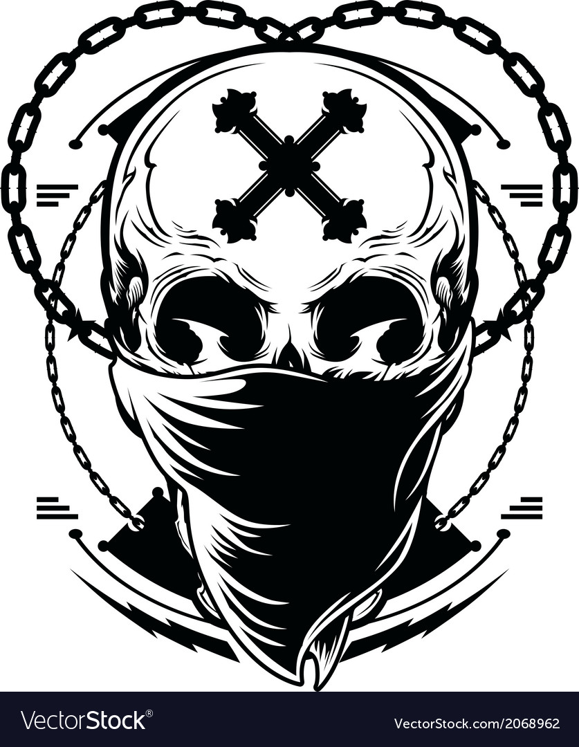 Skull graphic vector | Price: 1 Credit (USD $1)