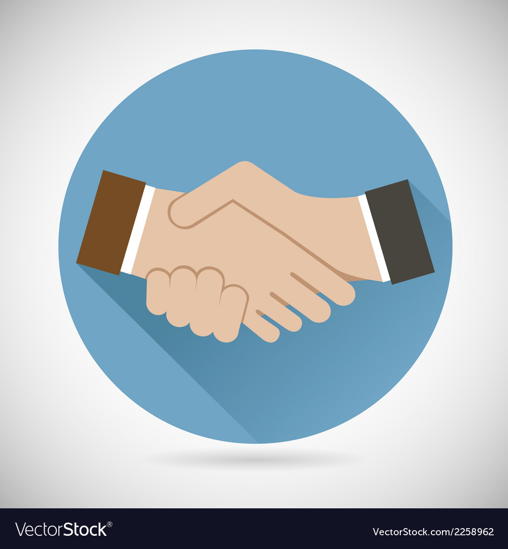 Symbol concept successful partnership business vector | Price: 1 Credit (USD $1)