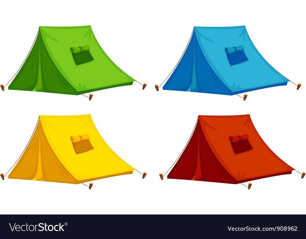 Tents vector | Price: 1 Credit (USD $1)