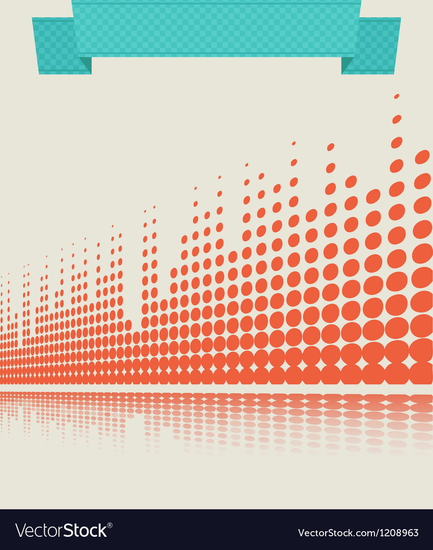 Musical background retro vector | Price: 1 Credit (USD $1)