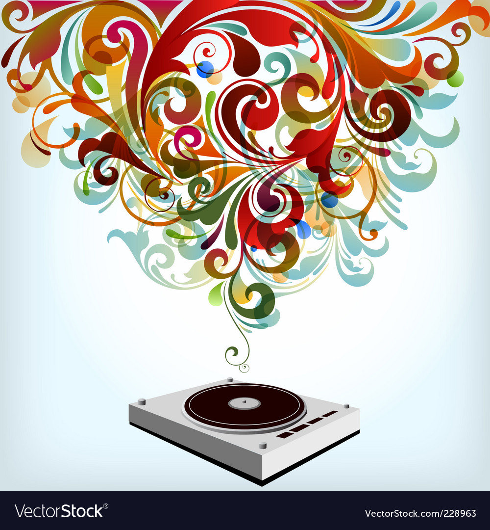 Tunes vector | Price: 3 Credit (USD $3)