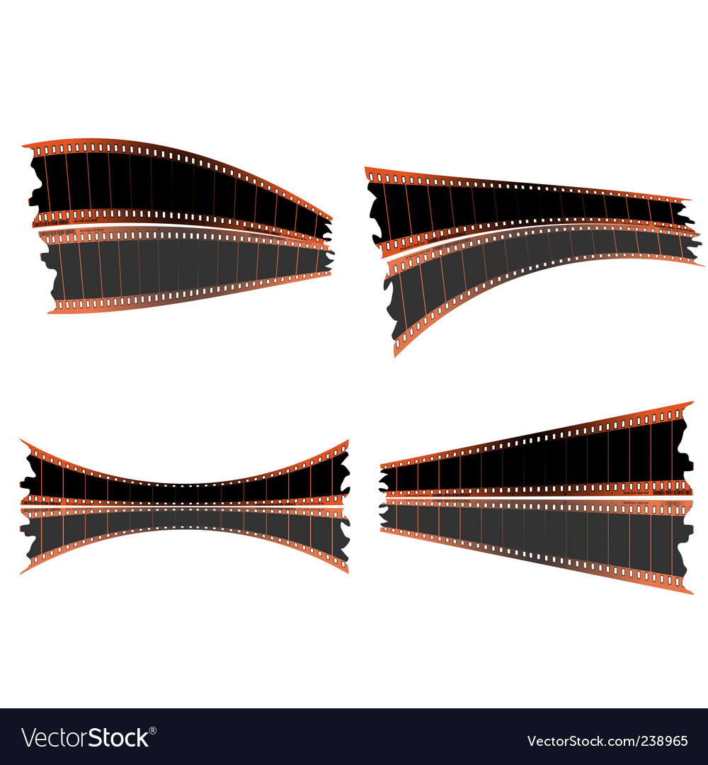 35mm film strips vector | Price: 1 Credit (USD $1)