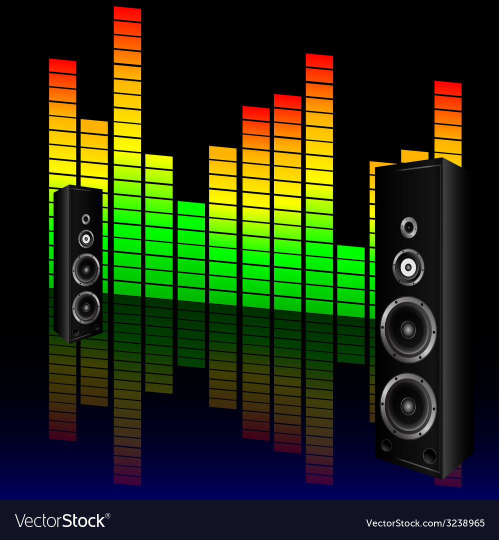 Music volume with speaker vector | Price: 1 Credit (USD $1)