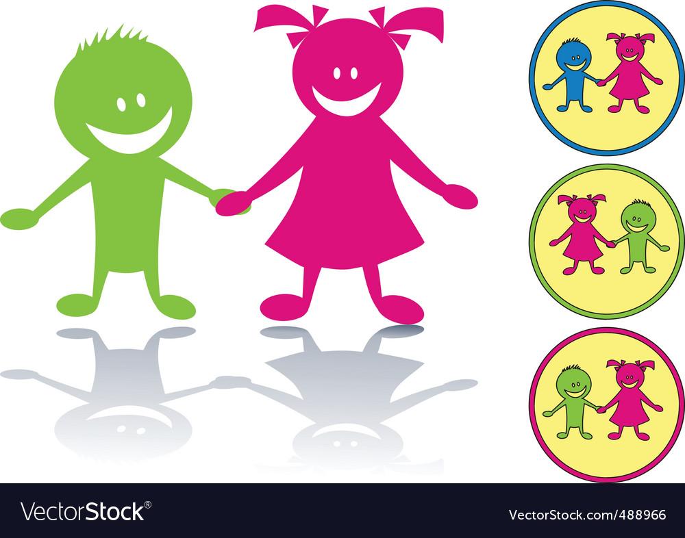 Cartoon children vector   Price: 1 Credit (USD $1)