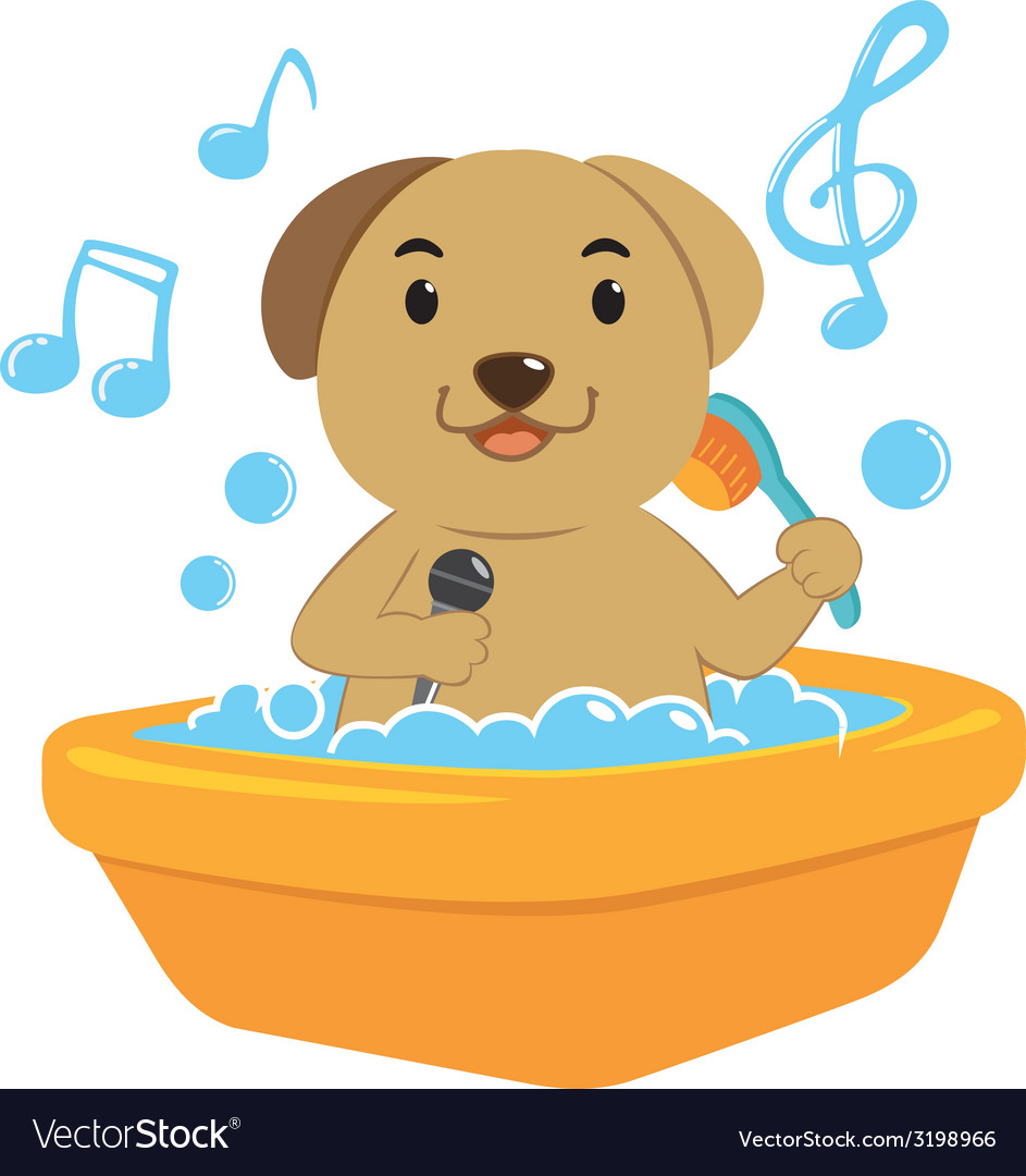 Dogbath vector | Price: 1 Credit (USD $1)