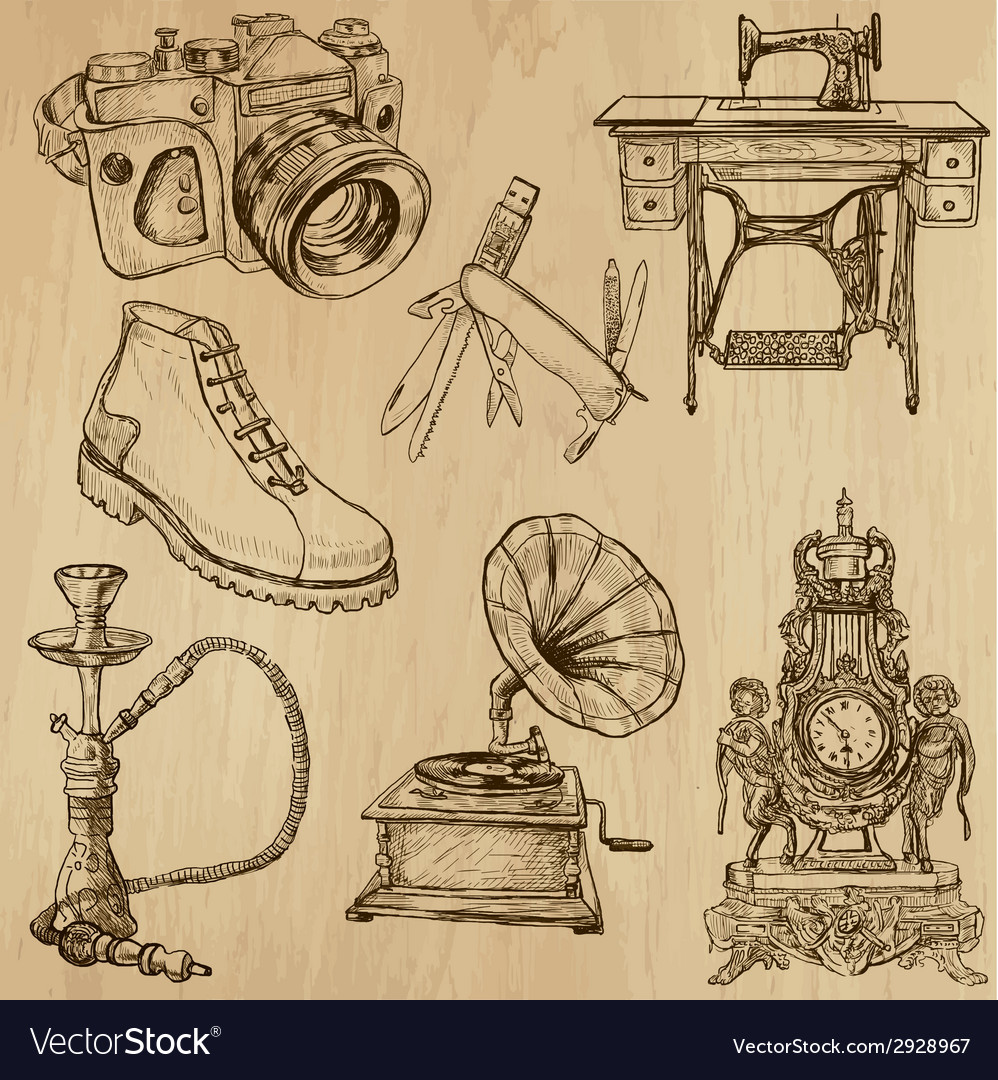 Objects - set no2 vector | Price: 1 Credit (USD $1)