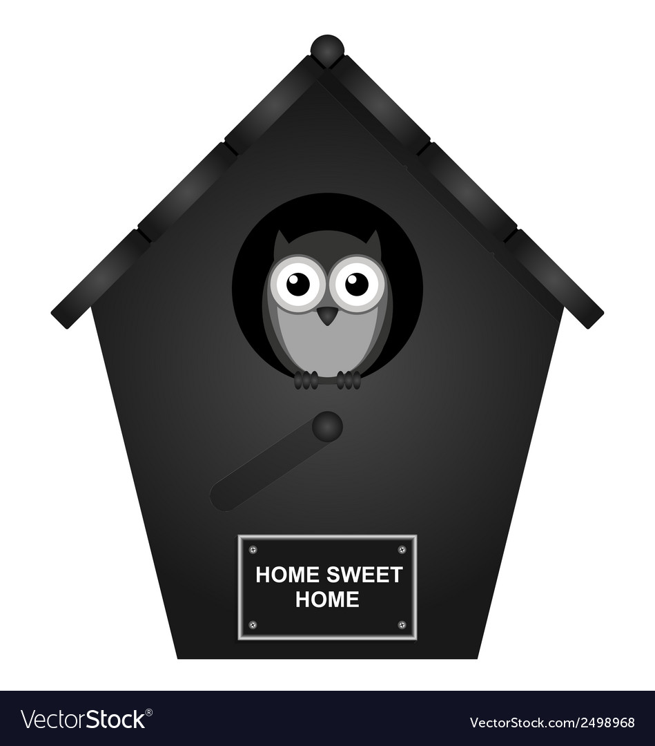 Birdhouse vector | Price: 1 Credit (USD $1)