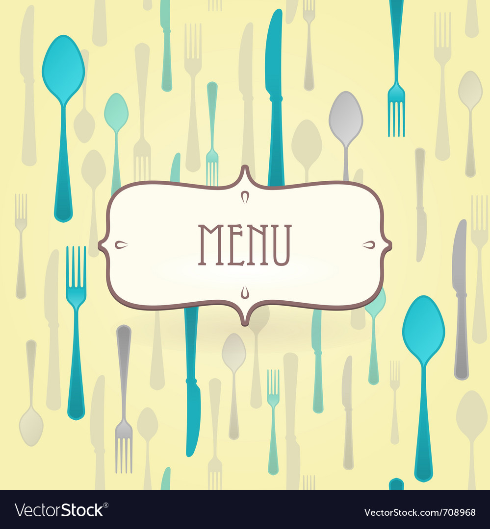 Premium restaurant menu vector | Price: 1 Credit (USD $1)