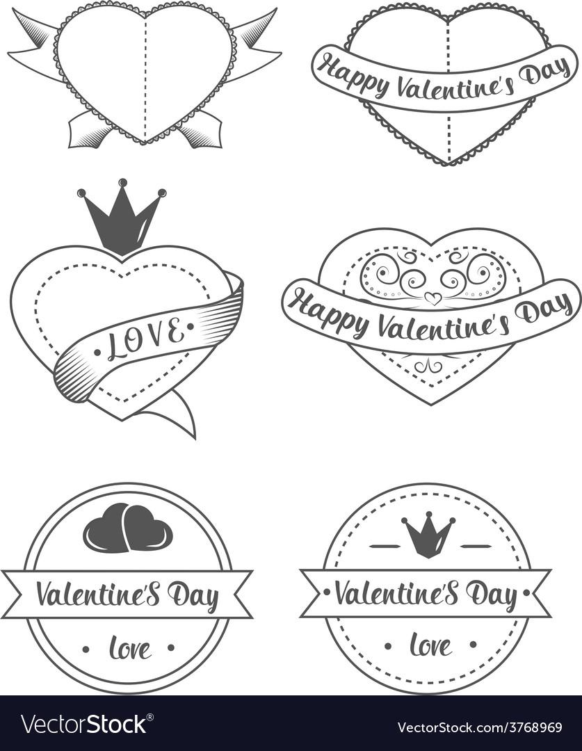 Love valentines vector | Price: 1 Credit (USD $1)