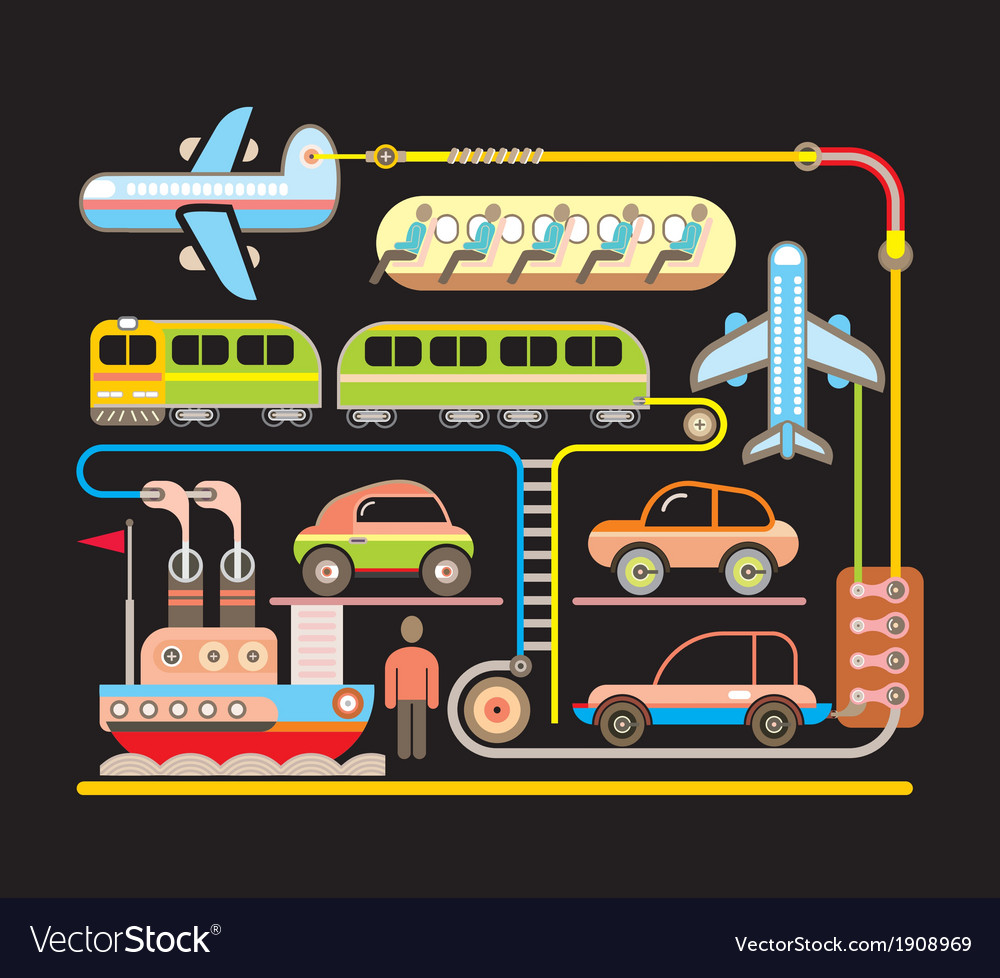 Transport vector | Price: 1 Credit (USD $1)