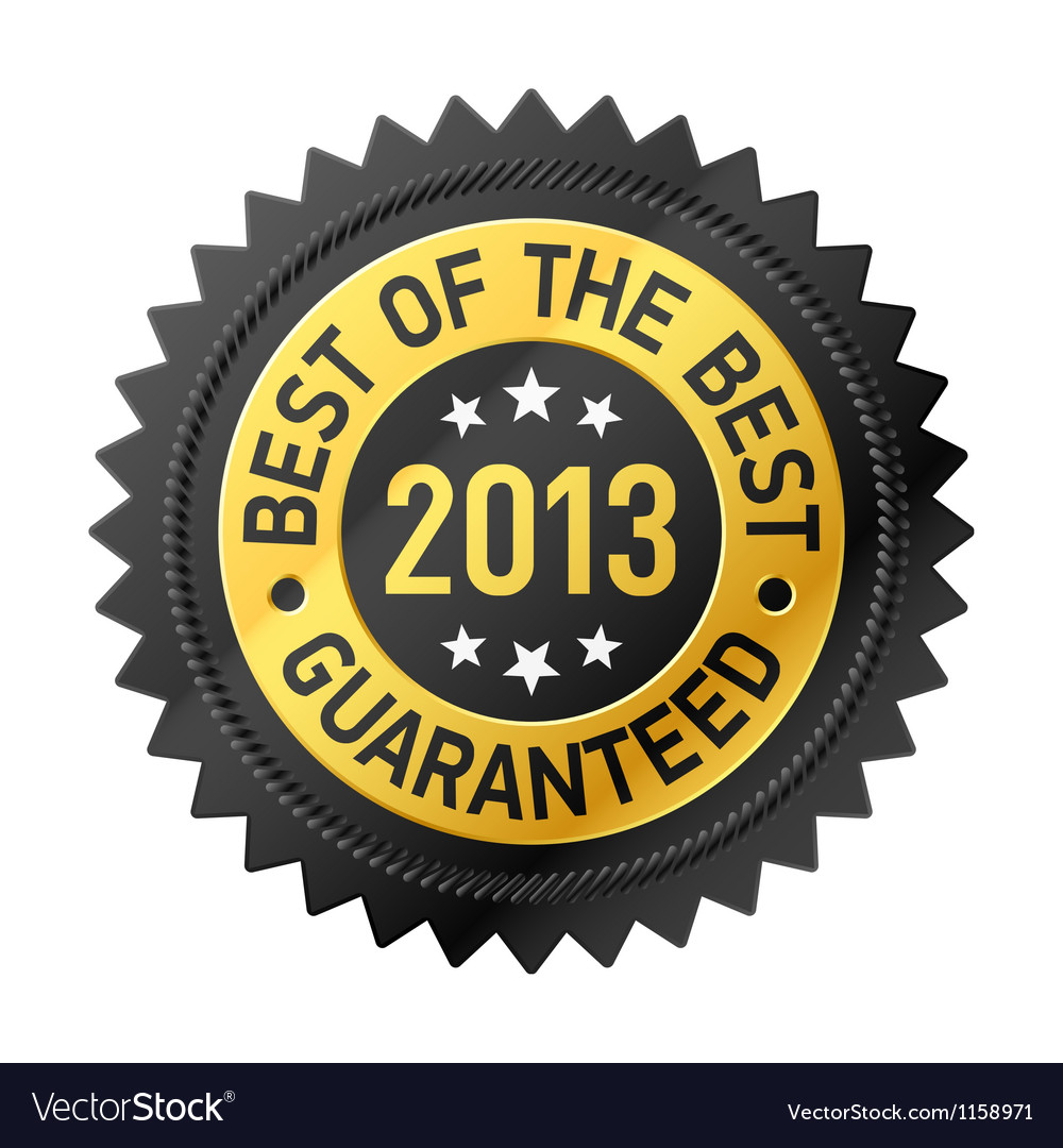 Best of the best 2013 label vector | Price: 1 Credit (USD $1)