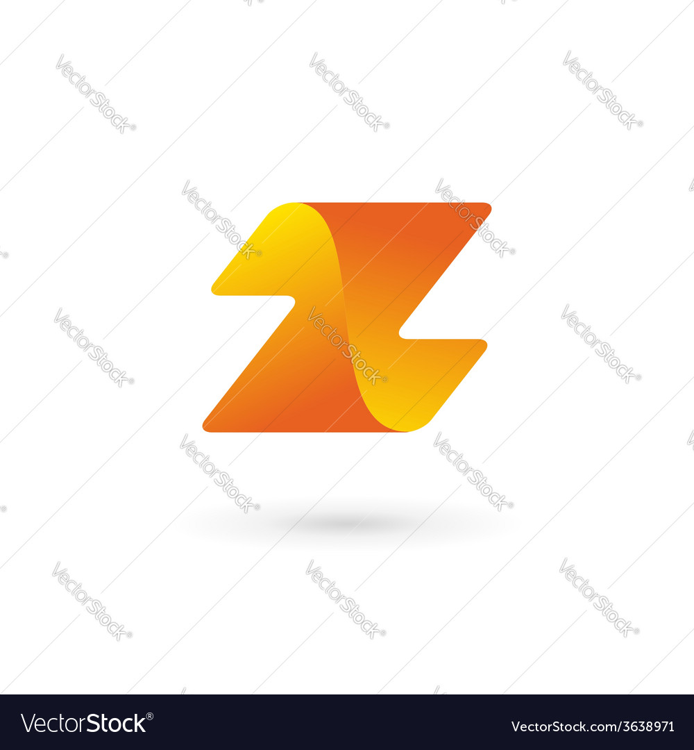Letter z logo icon design template elements vector | Price: 1 Credit (USD $1)