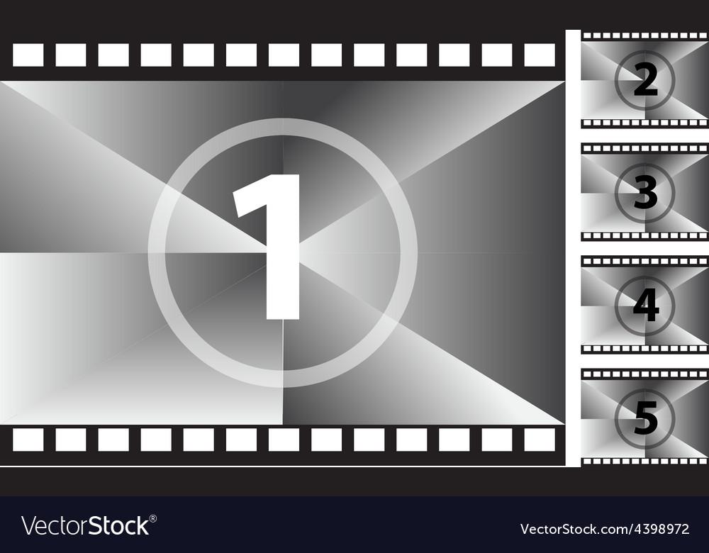Film strips vector | Price: 3 Credit (USD $3)