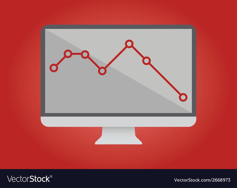 Computer screen vector | Price: 1 Credit (USD $1)