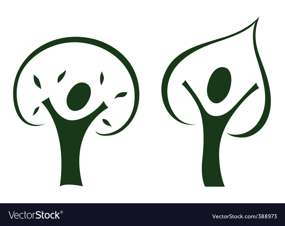 Growing man vector | Price: 1 Credit (USD $1)