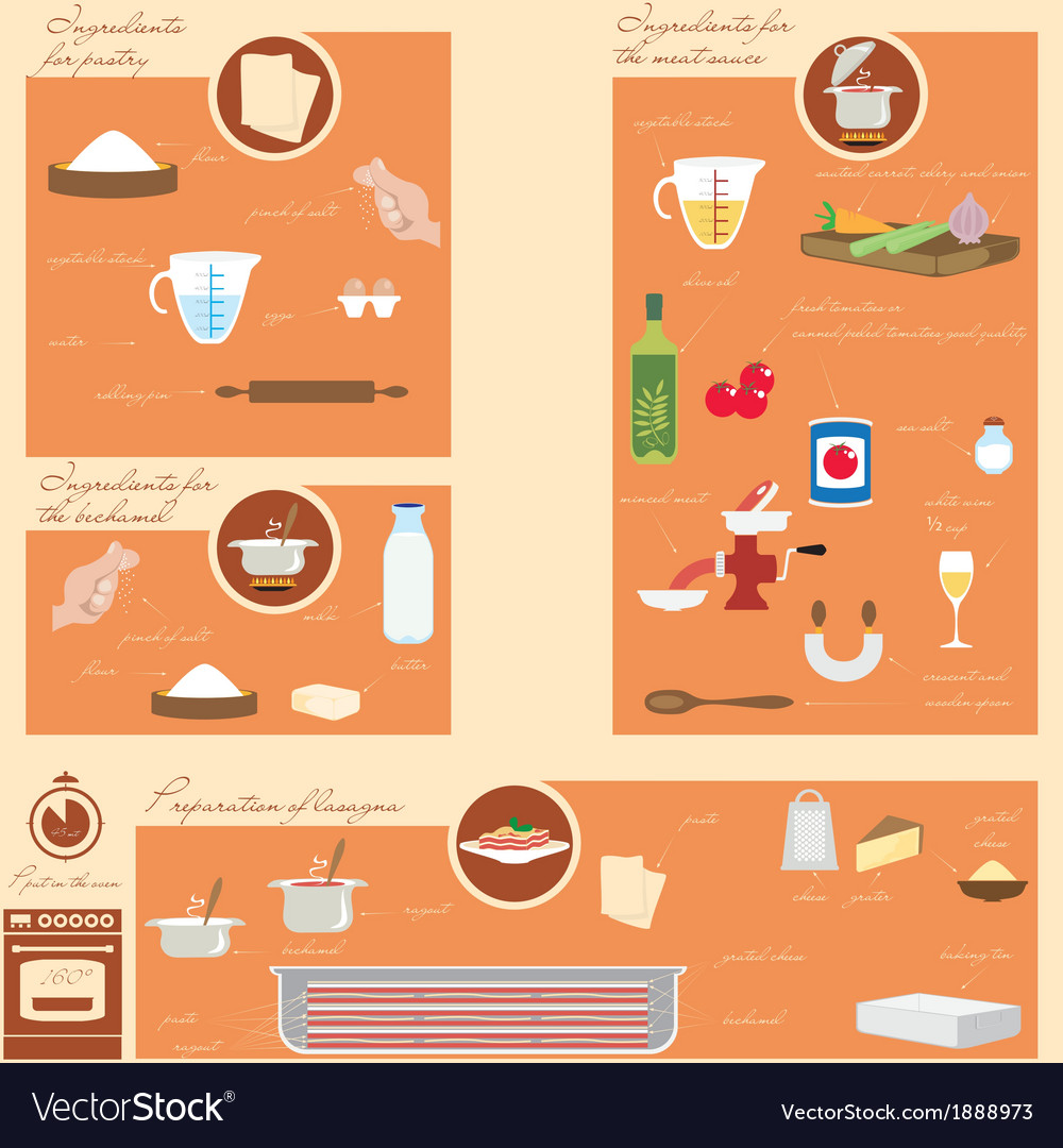 Infographic food vector | Price: 1 Credit (USD $1)