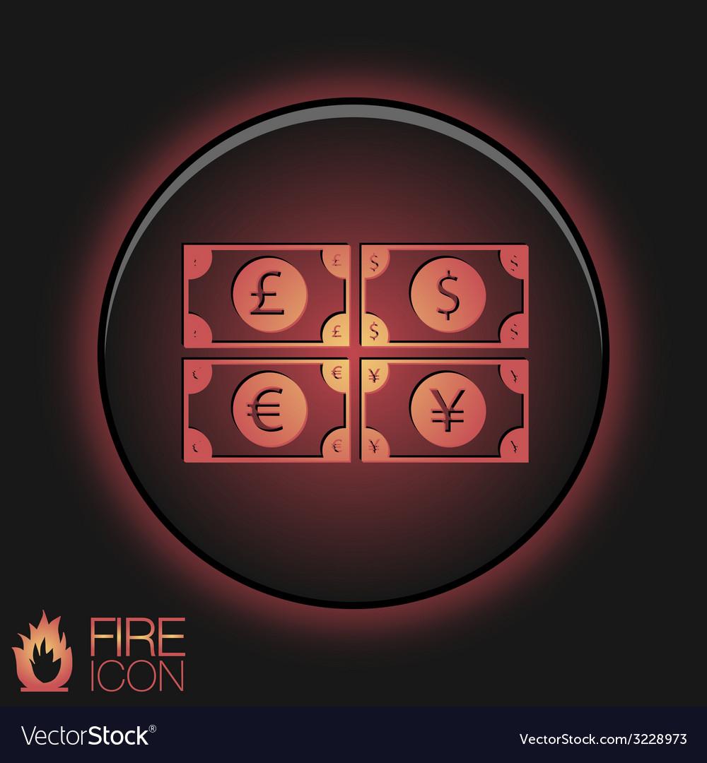 Money bill symbol icon dollar pound sterling vector   Price: 1 Credit (USD $1)