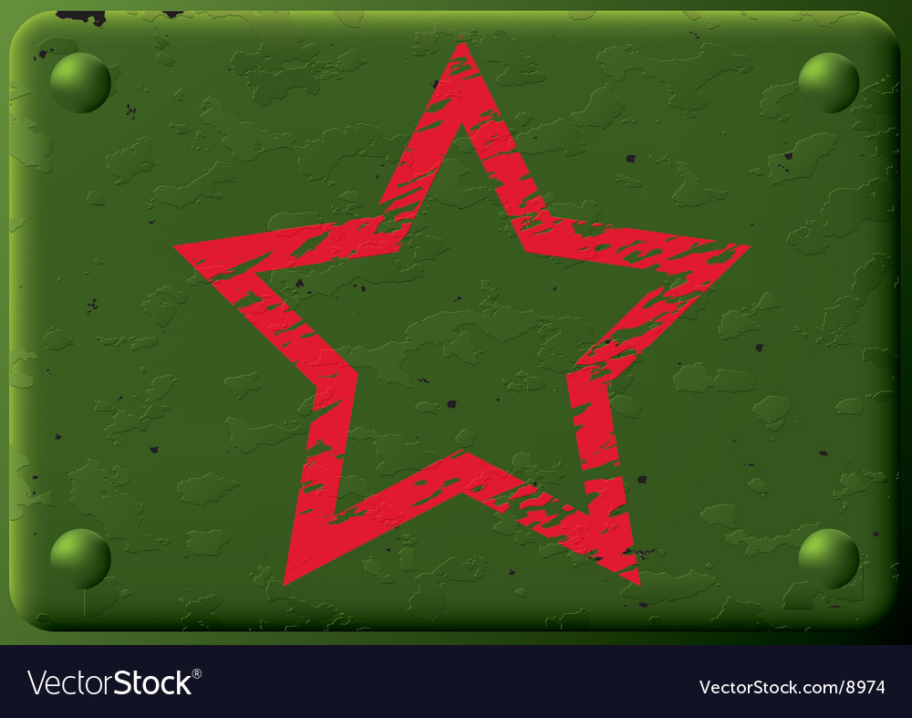 Background armored plate and star vector | Price: 1 Credit (USD $1)