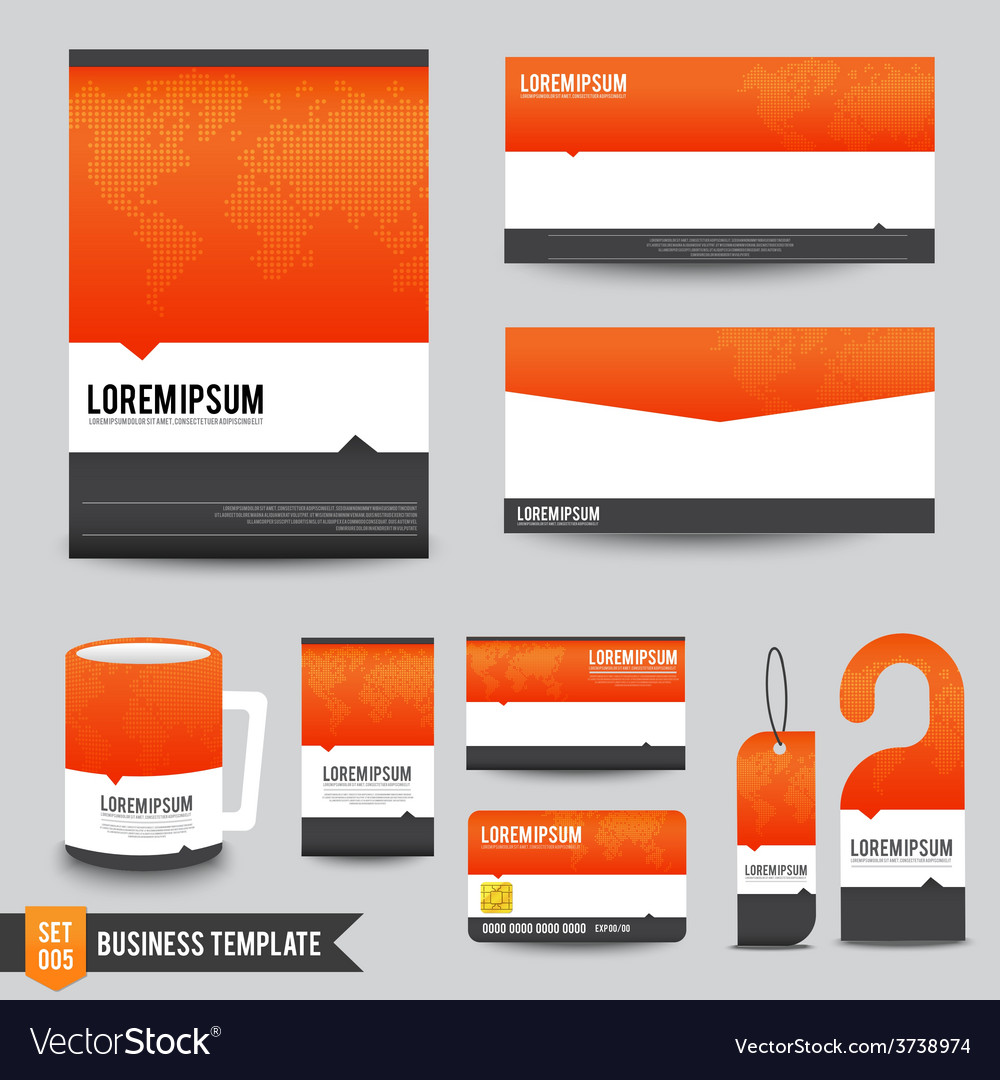 Brochure background template 005 vector | Price: 1 Credit (USD $1)