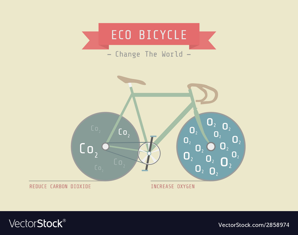 Eco bike vector   Price: 1 Credit (USD $1)