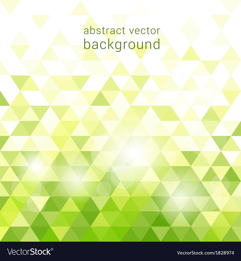 Green background with abstract geometric vector | Price: 1 Credit (USD $1)