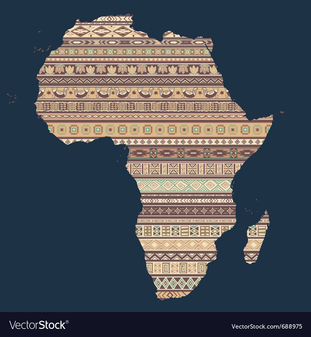 African elements vector | Price: 1 Credit (USD $1)