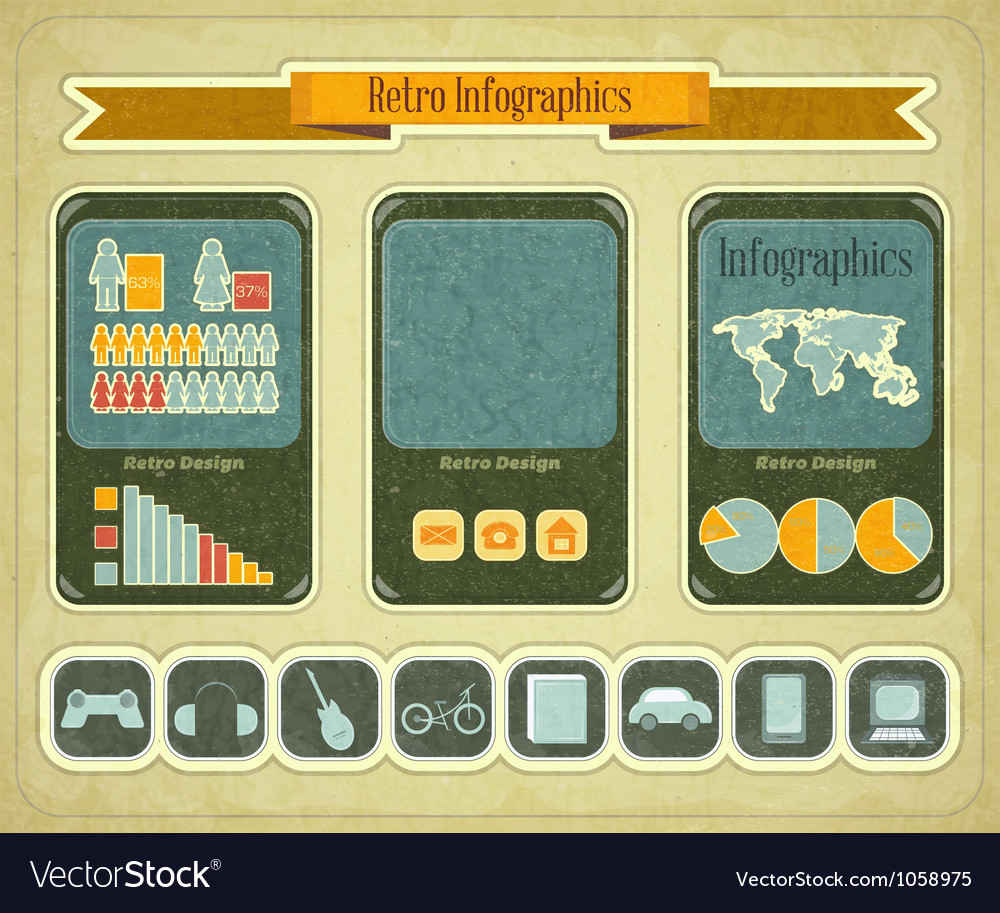 Phone infographics vector | Price: 3 Credit (USD $3)