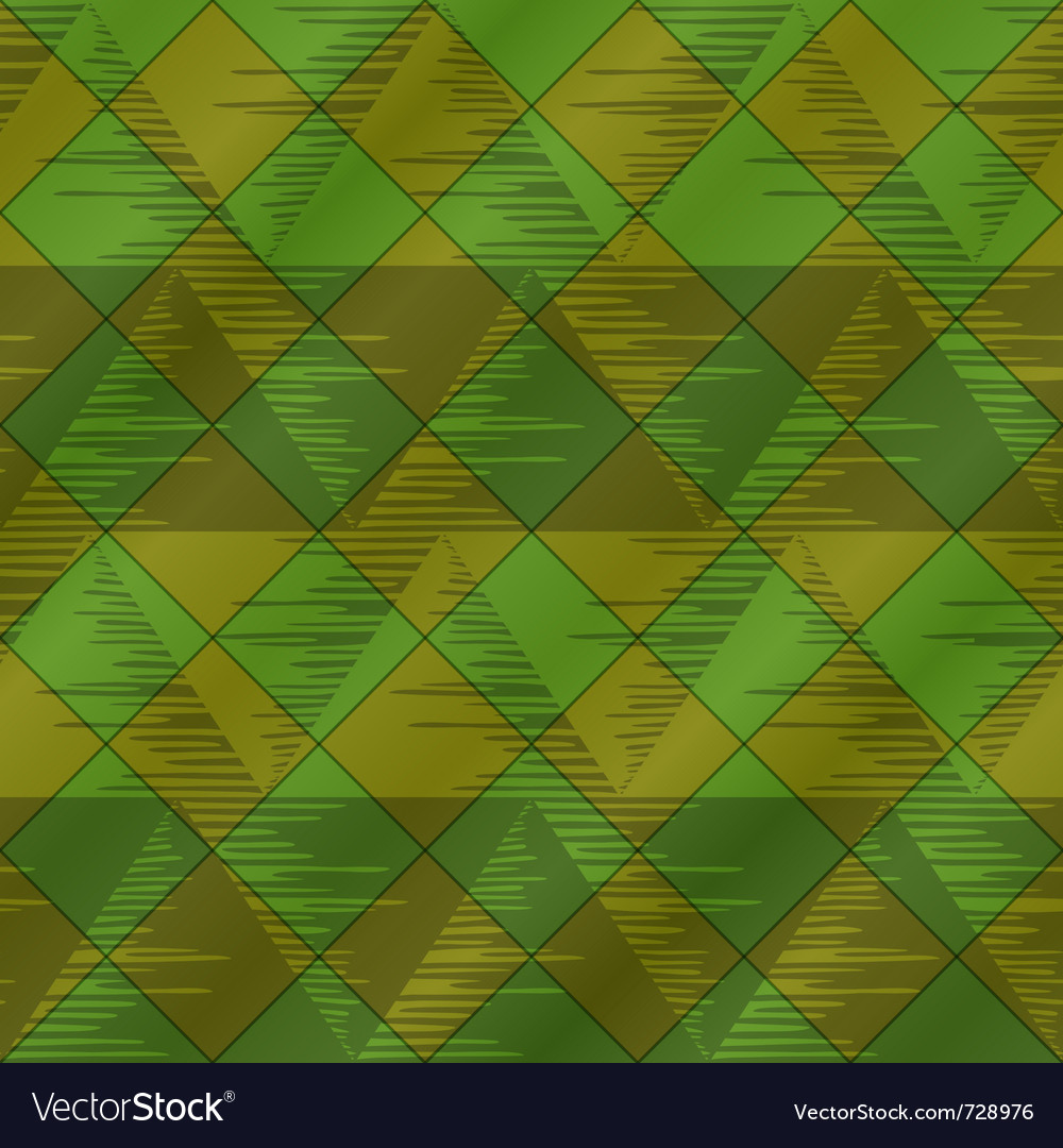 Abstract seamless plaid green vector | Price: 1 Credit (USD $1)