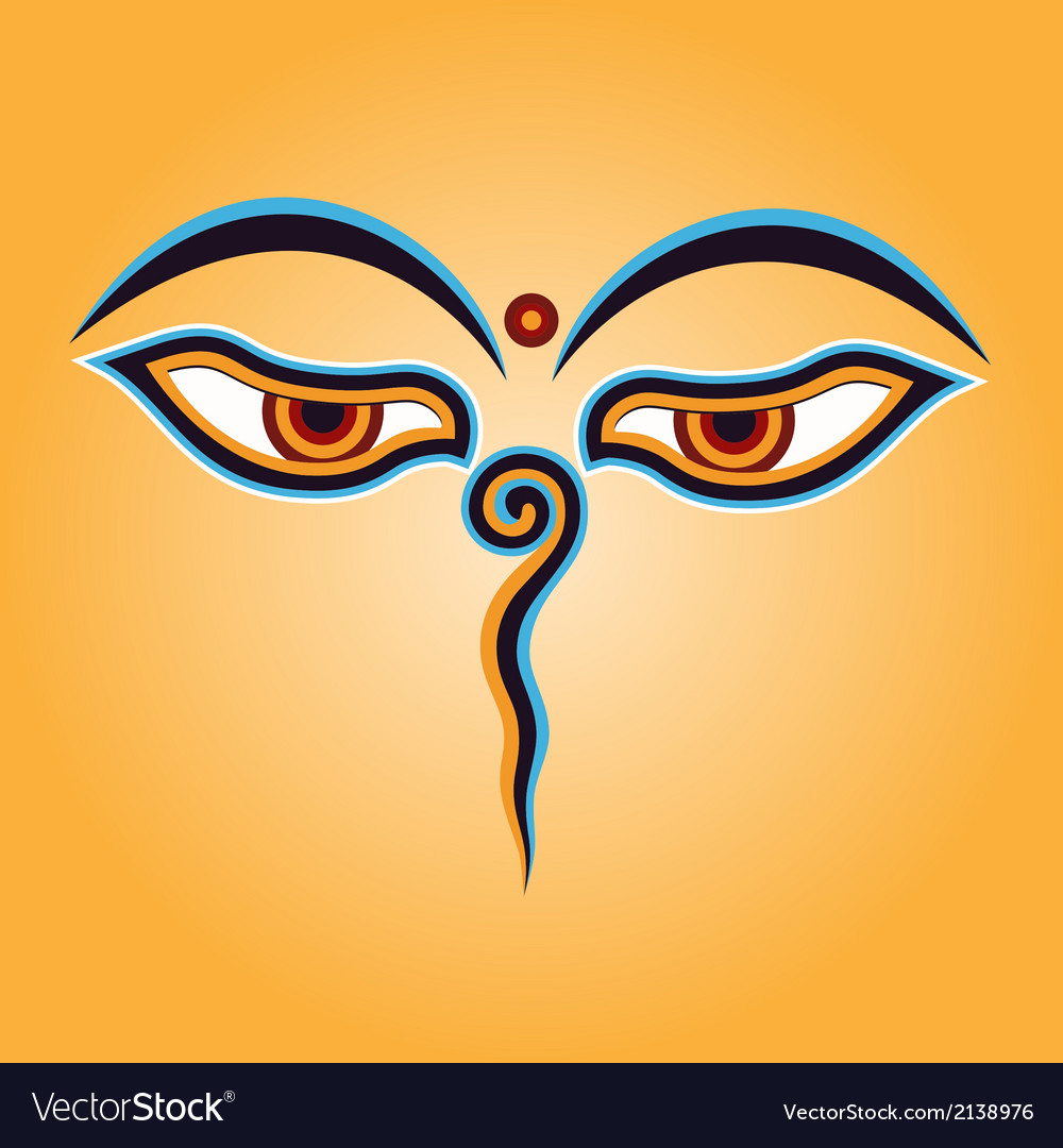 Buddha eyes vector | Price: 1 Credit (USD $1)