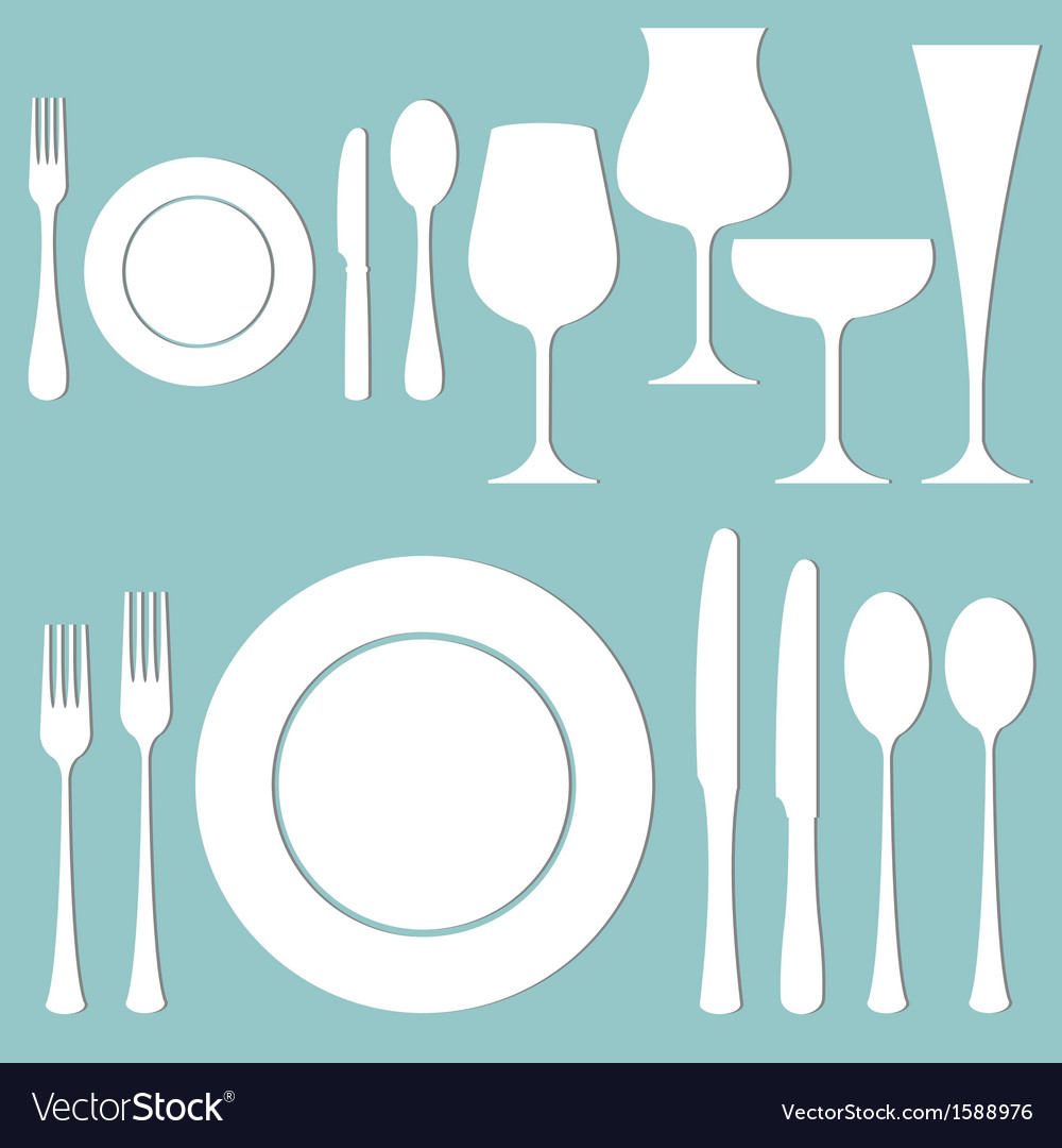 Formal dinner vector | Price: 1 Credit (USD $1)