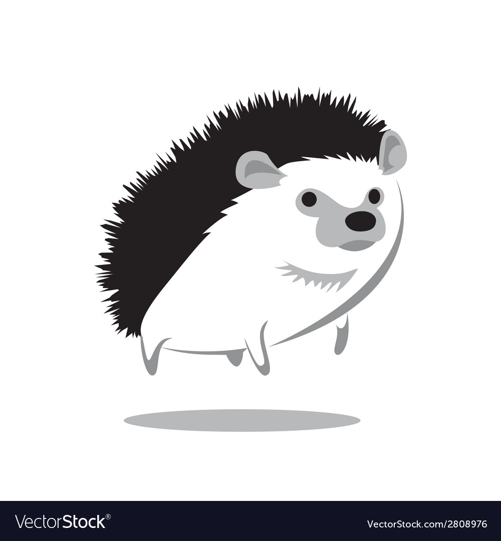 Hedgehog vector | Price: 1 Credit (USD $1)