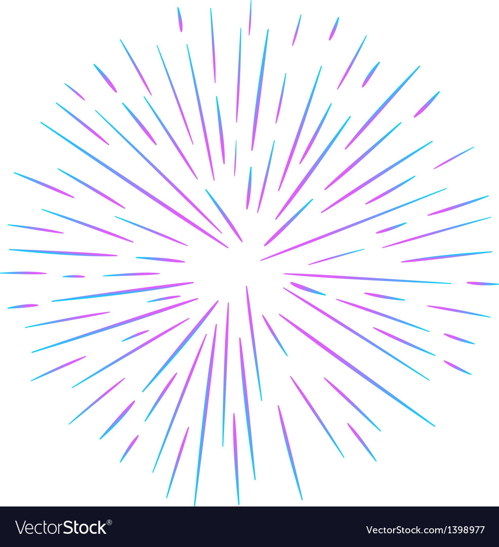A firework vector | Price: 1 Credit (USD $1)