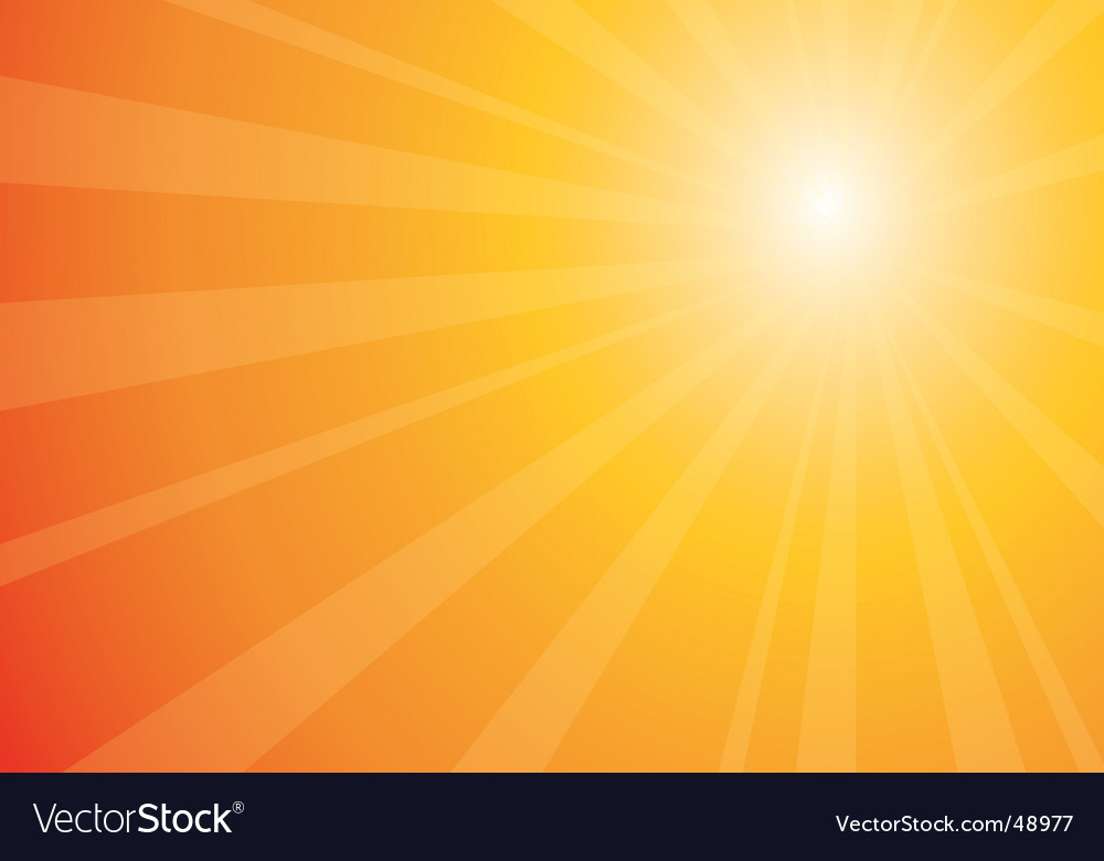 Beautiful sunburst vector