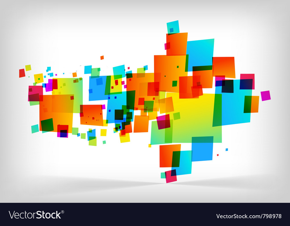 Abstract colorful arrow background vector | Price: 1 Credit (USD $1)