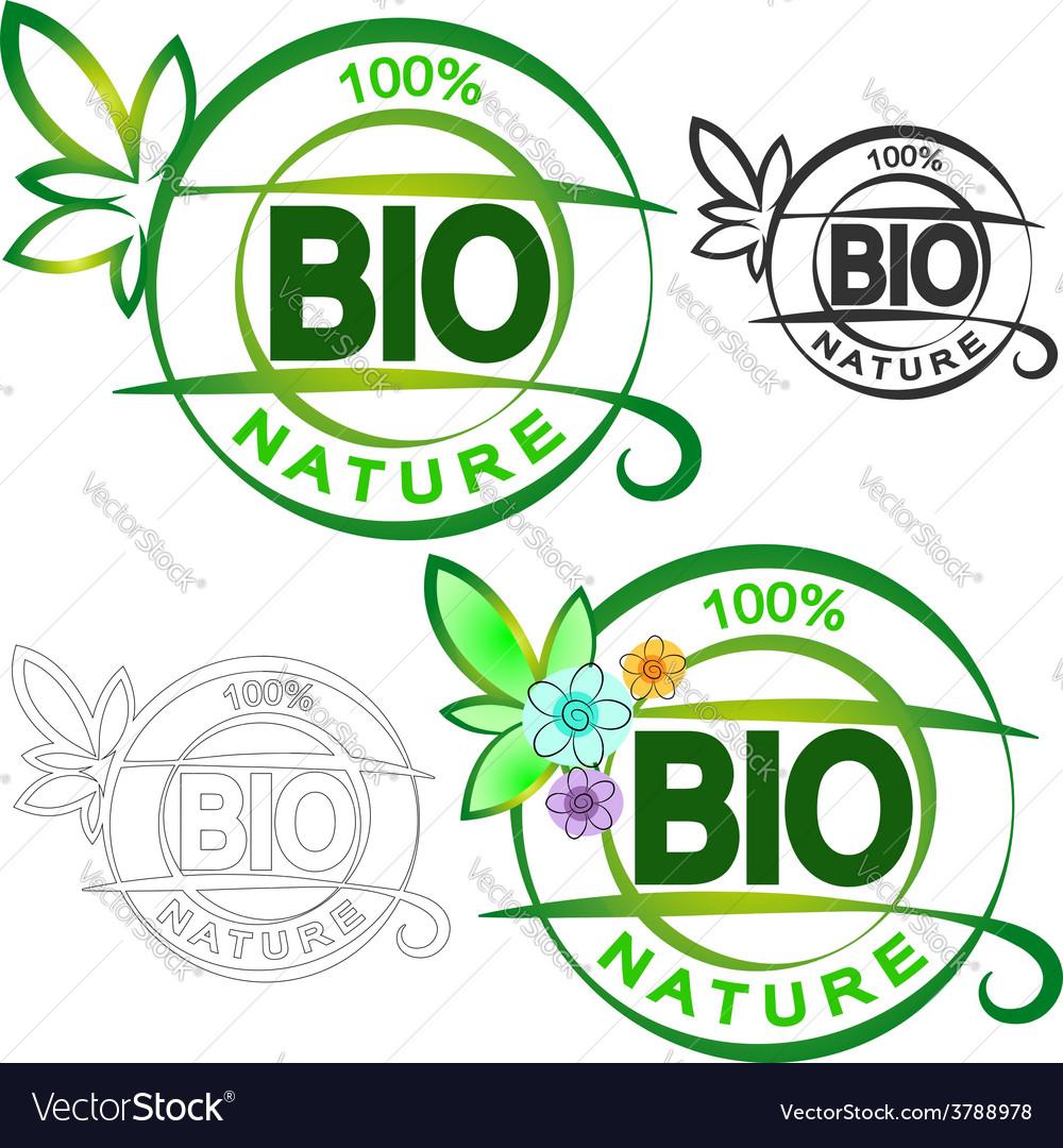 Bio symbol vector | Price: 1 Credit (USD $1)