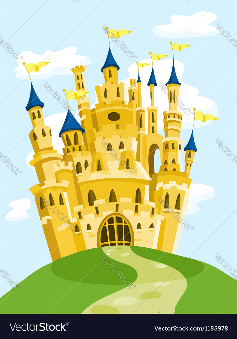Magic castle vector | Price: 3 Credit (USD $3)