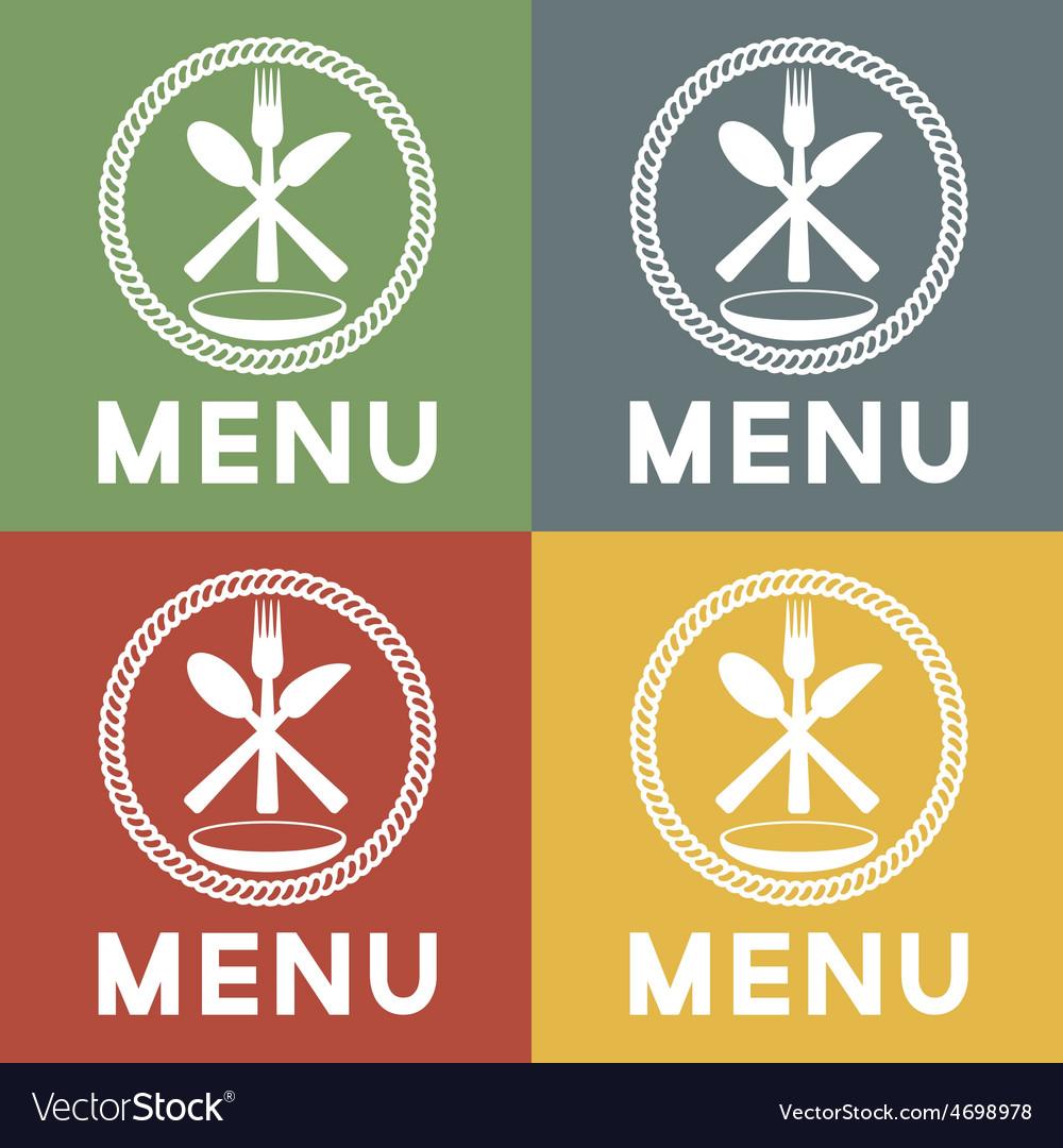 Restaurant menu design template vector | Price: 1 Credit (USD $1)