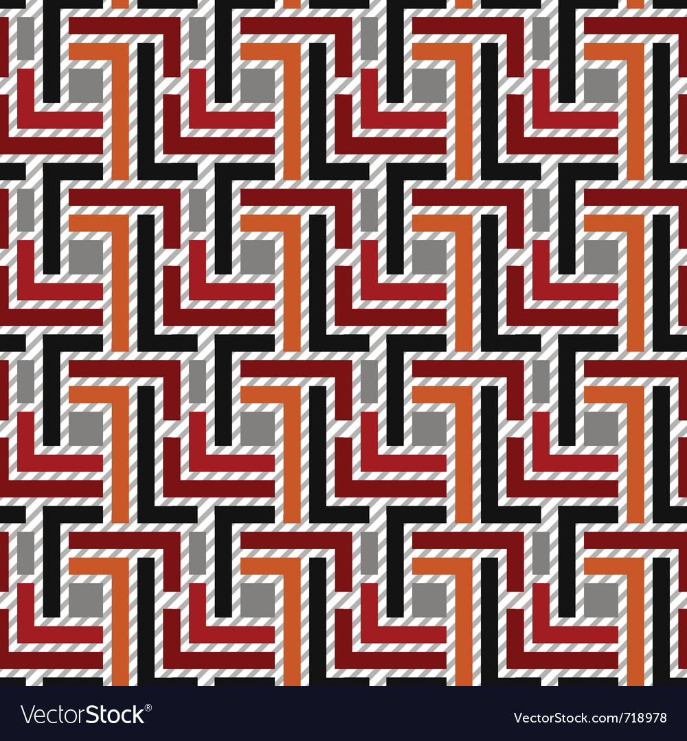 Seamless geometric pattern 01 vector | Price: 1 Credit (USD $1)