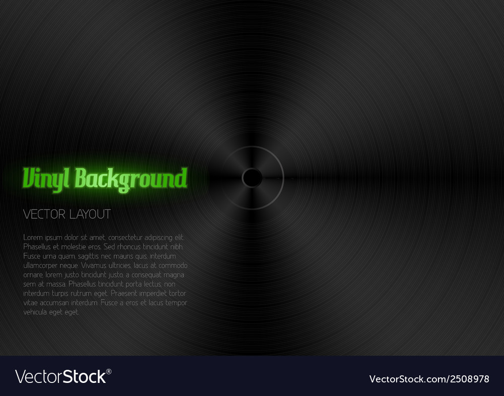 Vinyl vector | Price: 1 Credit (USD $1)